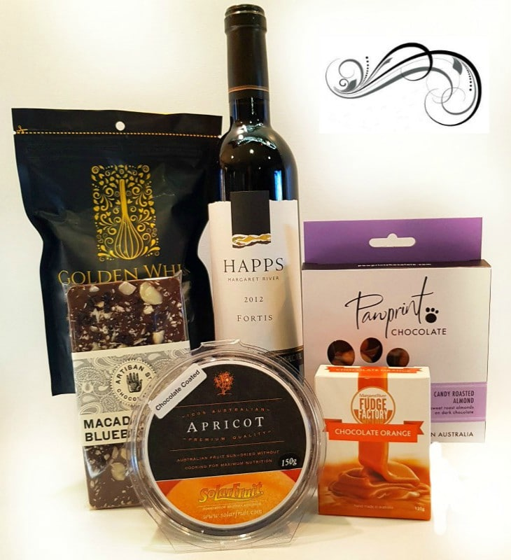 Perfect with Port Hamper - Boxed Indulgence