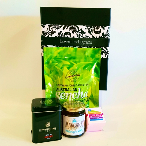 Tea & Honey - Boxed Indulgence gourmet hameper