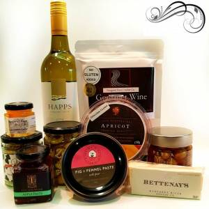 Gluten Free with Wine Hamper - Boxed Indulgence